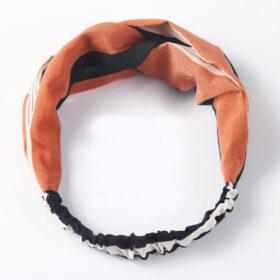 Μαντήλι Μαλλιών Headband Retro Βερικοκί