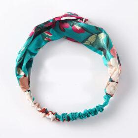 Μαντήλι Μαλλιών Headband Floral Green Flower
