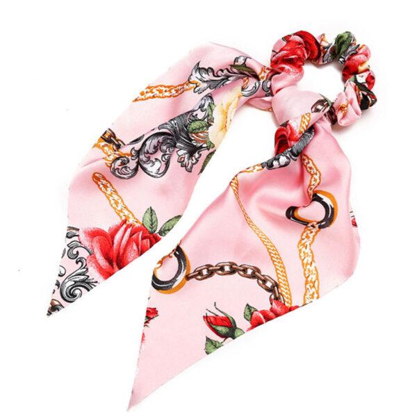 Μαντήλι Μαλλιών Rose Retro Pattern