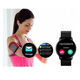 SmartWatch Ανοξείδωτο Mesh Bracelet ITR-M20 Black