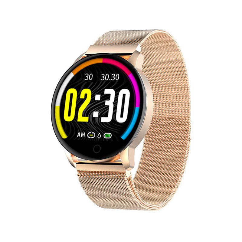 SmartWatch Ανοξείδωτο Mesh Bracelet ITR-M20 Gold