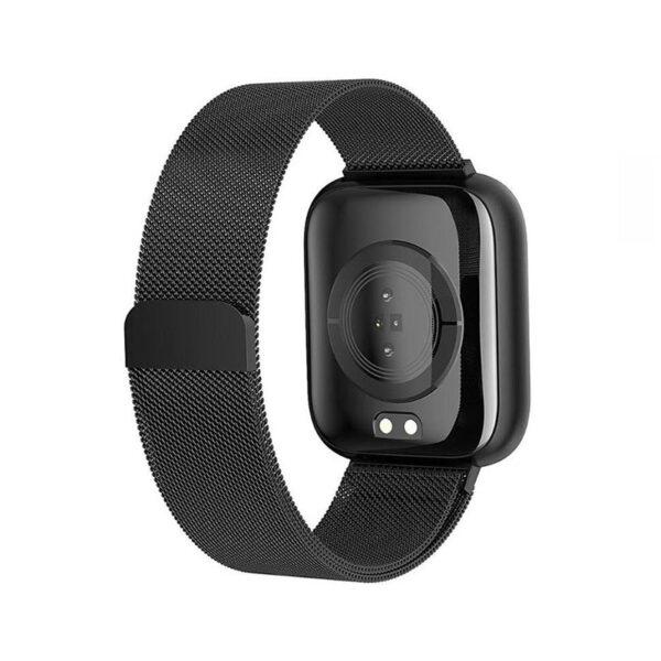 SmartWatch Ανοξείδωτο Mesh Bracelet ITR-S4 Black