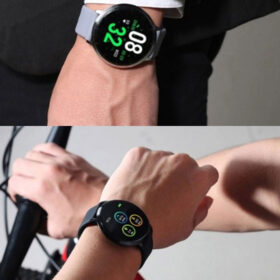 SmartWatch Fitness Silicone ITR-S12 Black