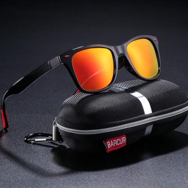 Γυαλιά Ηλίου Active Gloss Black / Red Σκελετός & Orange Φακός Polarized (2130)