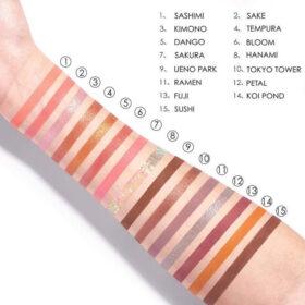 Tokyo Focallure- Παλέτα Σκιών με 15 χρώματα