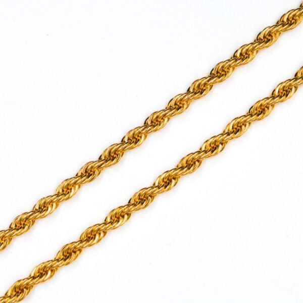 Αλυσίδα Γυαλιών Rope Μεταλλική Roze/Gold