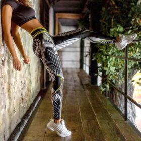 Αθλητικό Κολάν Ψηλόμεσο Fitness Print για Yoga/Pilates (A09)Αθλητικό Κολάν Ψηλόμεσο Fitness Print για Yoga/Pilates (A09)