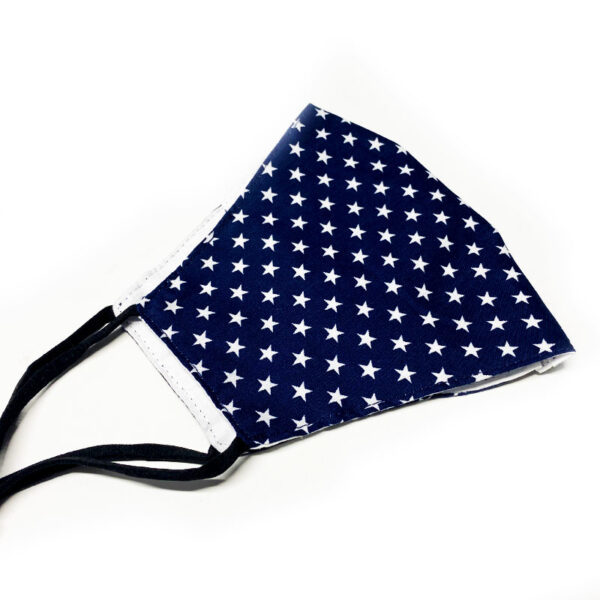 Μάσκα Πολλαπλών Χρήσεων Dark Blue Stars - One Size