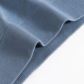 Σετ Εσώρουχα Fitness με Ψηλόμεσο String & Μπουστάκι με Ενίσχυση Μπλε (L6001)