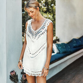 Cover-Up Bohemian White - One Size (FC10110W)