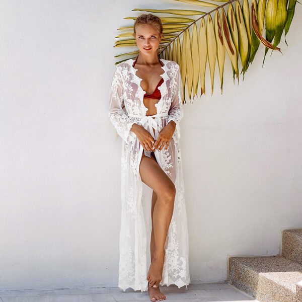 Cover-Up Bohemian White Long - One Size (FC50355W)