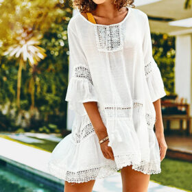 Cover-Up Bohemian White - One Size (FC10152W)