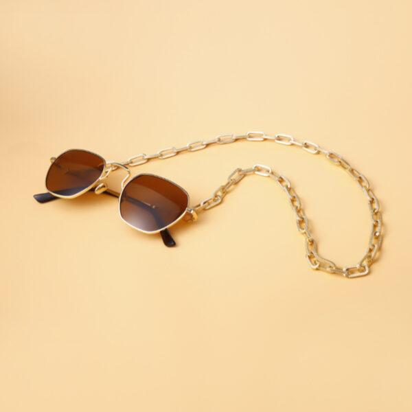 Αλυσίδα Chain Γυαλιών σε Χρυσό χρώμα (C501)