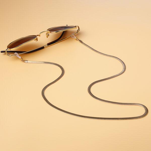 Αλυσίδα Chain Γυαλιών Snake σε Χρυσό χρώμα (C503)