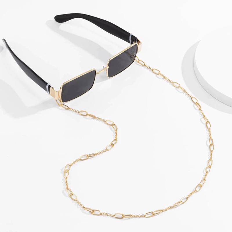 Αλυσίδα Chain Γυαλιών σε Χρυσό χρώμα (C504)