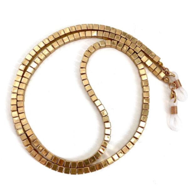 Αλυσίδα Chain Γυαλιών σε Χρυσό χρώμα (C506)
