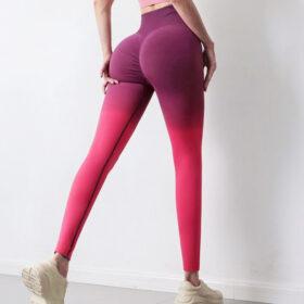 Αθλητικό Κολάν Ψηλόμεσο Gradient Red/Purple (A7980)