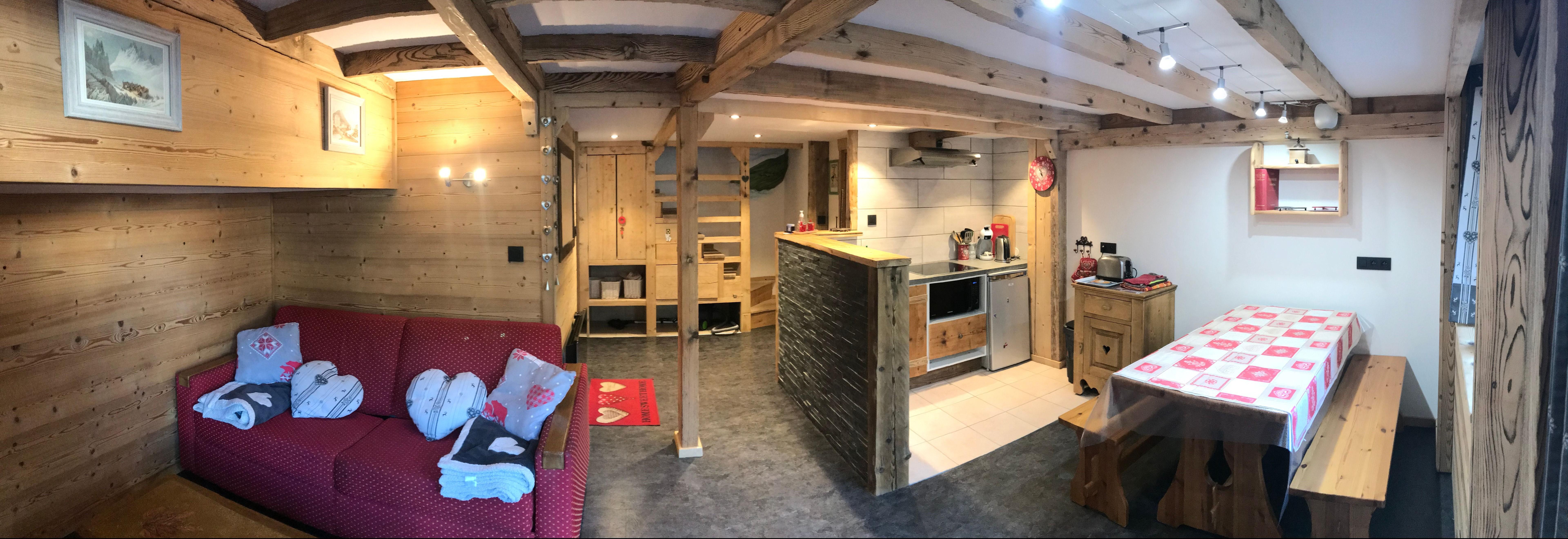 Komfortable Wohnung in der Nahe der Grands Montets Ferienwohnung in Frankreich