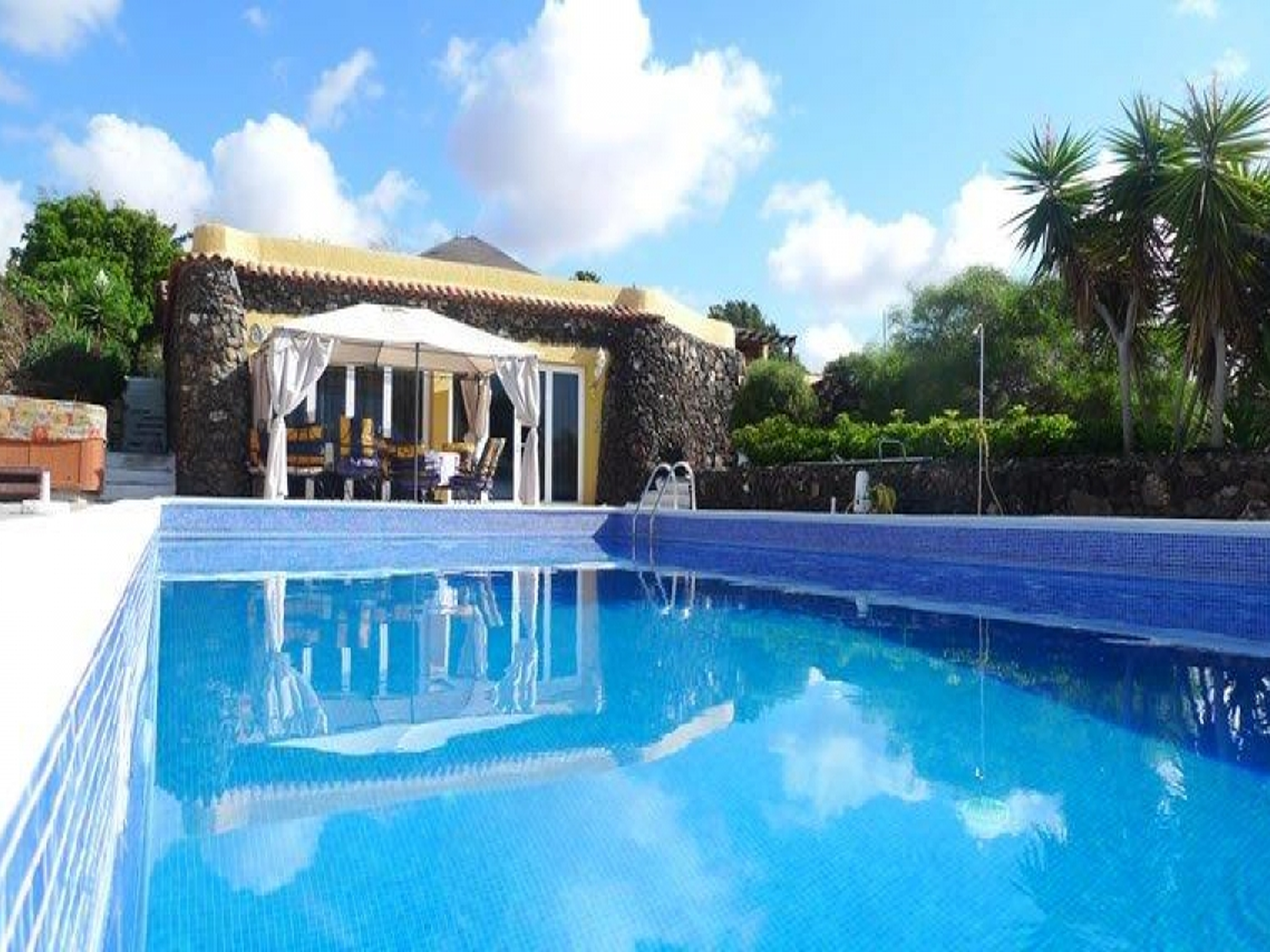 Finca Toredo groser beheizter Pool, Whirlpool, Bar Villa in Spanien