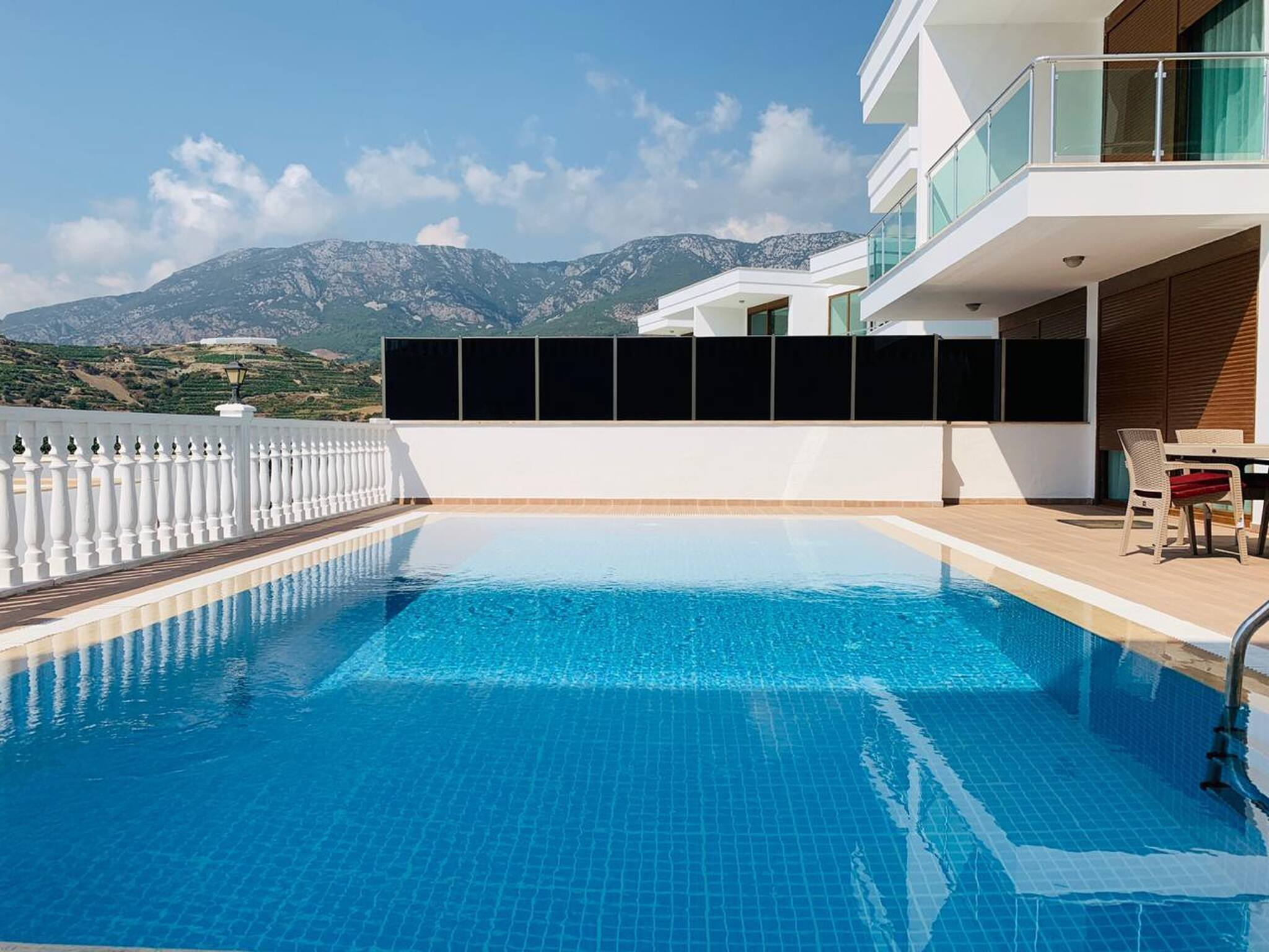 Villa mit privatem Pool 5 Sterne Komplex in Alanya