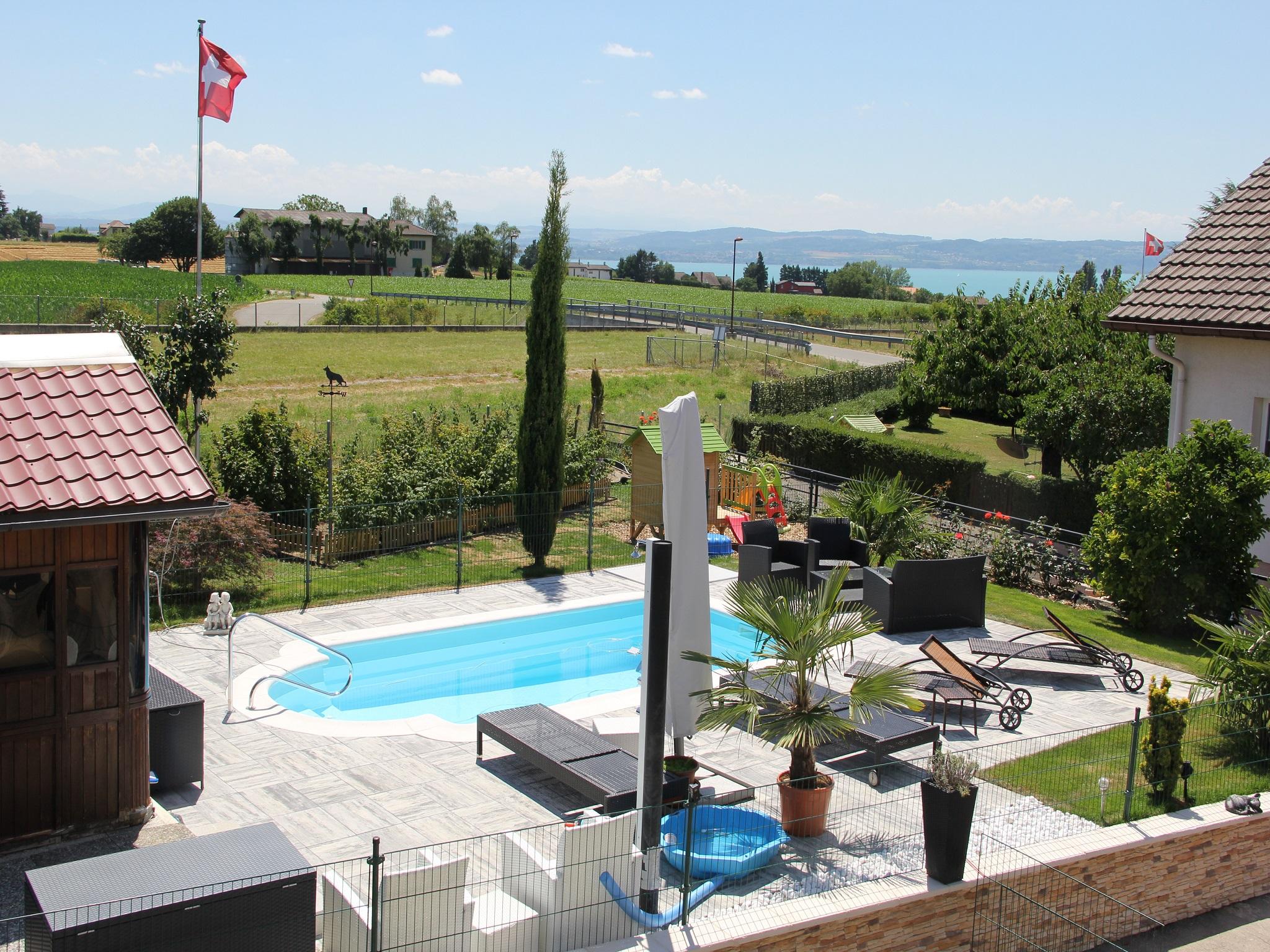 Appartement de vacances relaxe zu Hause ds 3pc oder im Studio eingerichteter Whirlpool und Pool im Somme (2520436), Bevaix, Lac de Neuchâtel, Jura - Neuchâtel, Suisse, image 9