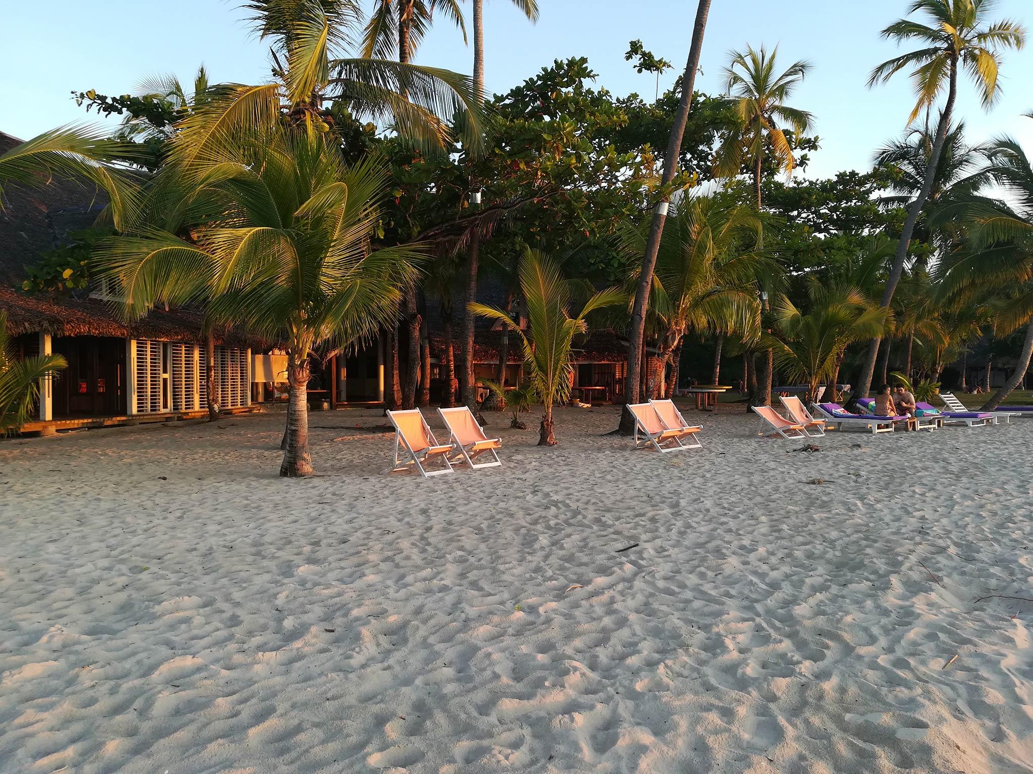 Verbringen Sie den ganzen Tag am Strand und genieen Sie die angebotenen Annehmlichkeiten