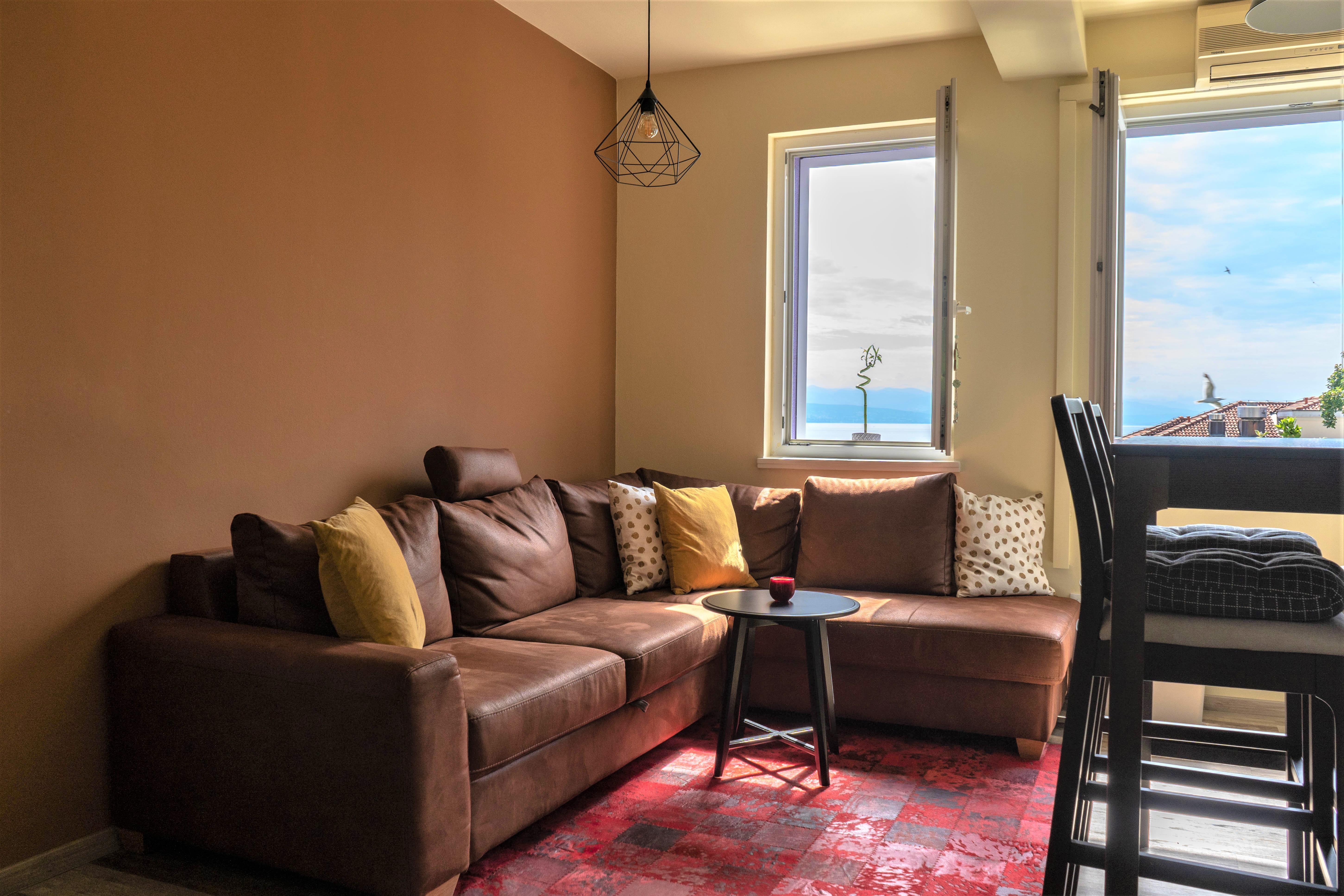 Appartement de vacances Wohnung mit Meerblick (2819649), Opatija, , Kvarner, Croatie, image 2