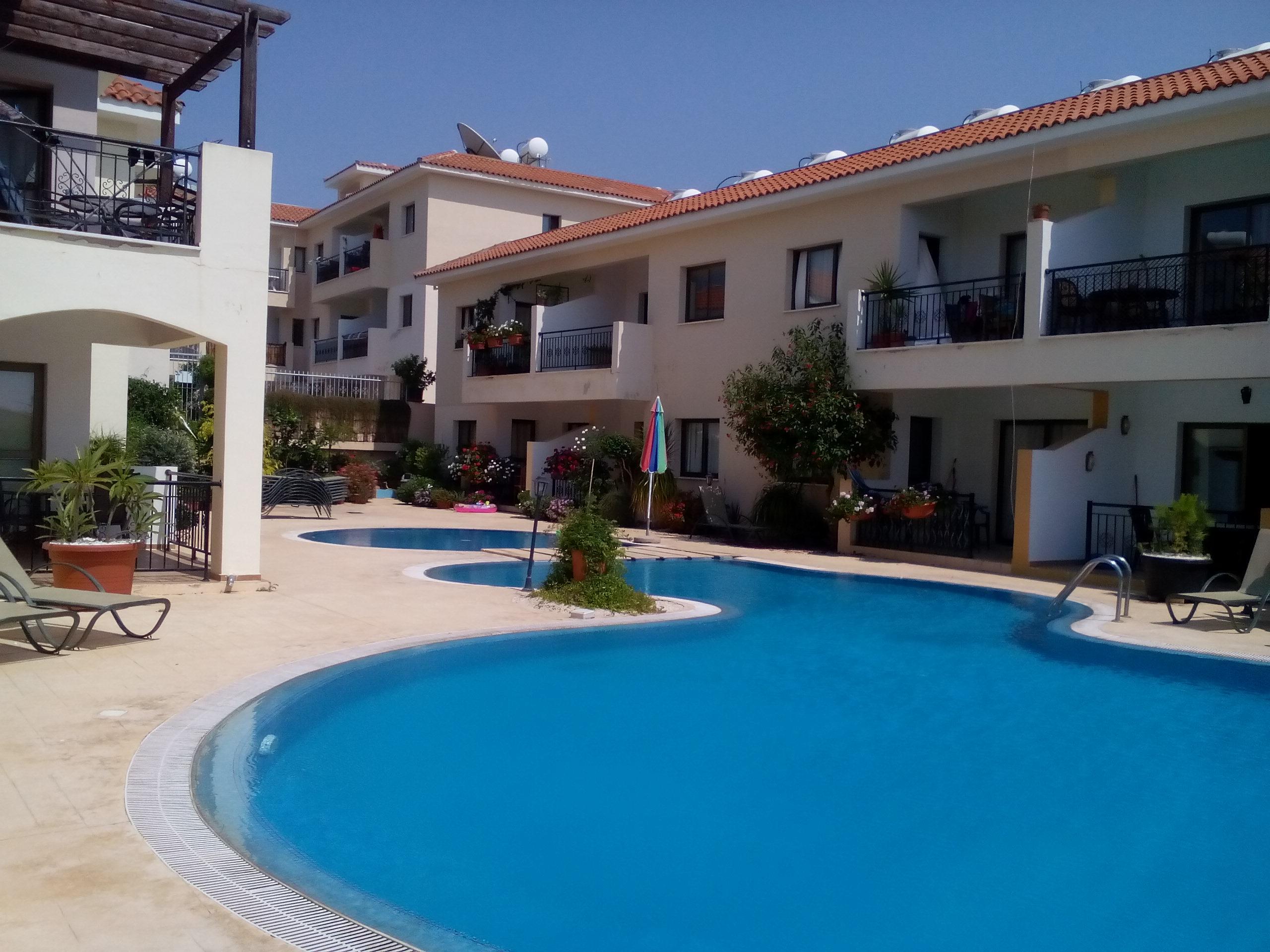 Luxus-Apartment, schnes Paphos, Zypern, ideal fr lange Ferien und Aufenthalte