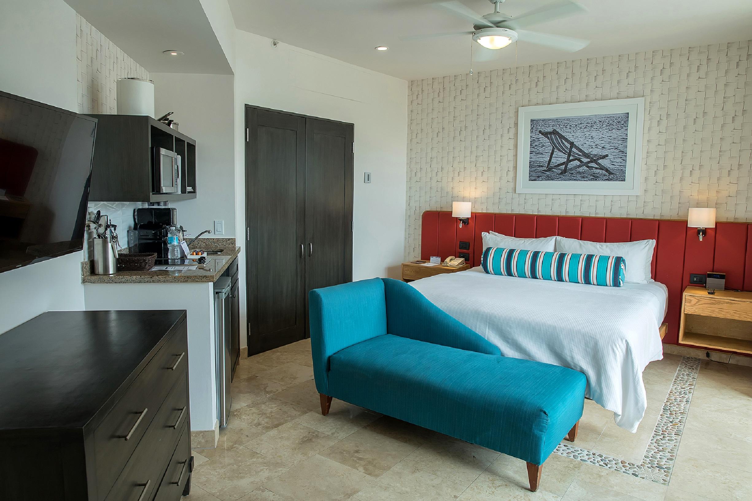 Suite mit 1 Kingsize-Bett im Herzen von Cabo Medan  in Mittelamerika und Karibik