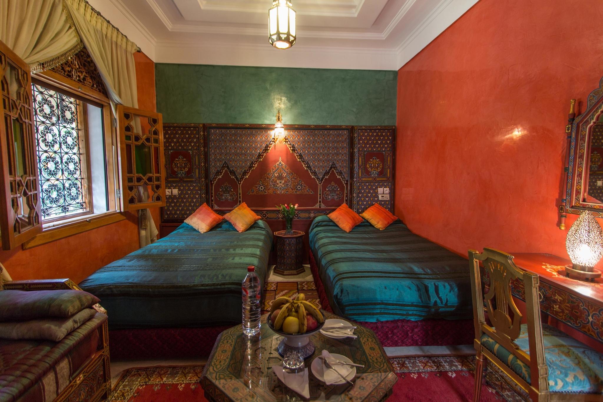 Zohra Zimmer - voll beed  in Marokko