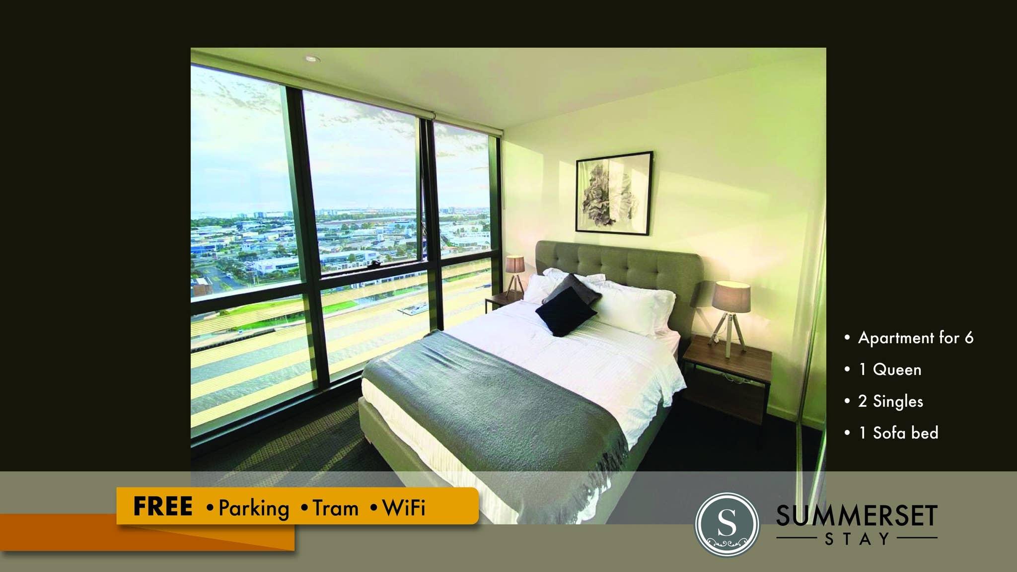 Ferienwohnung Atemberaubende Aussicht auf den Fluss Kostenlose Parkpltze Straenbahn WLAN (2782022), Melbourne, , Victoria, Australien, Bild 1
