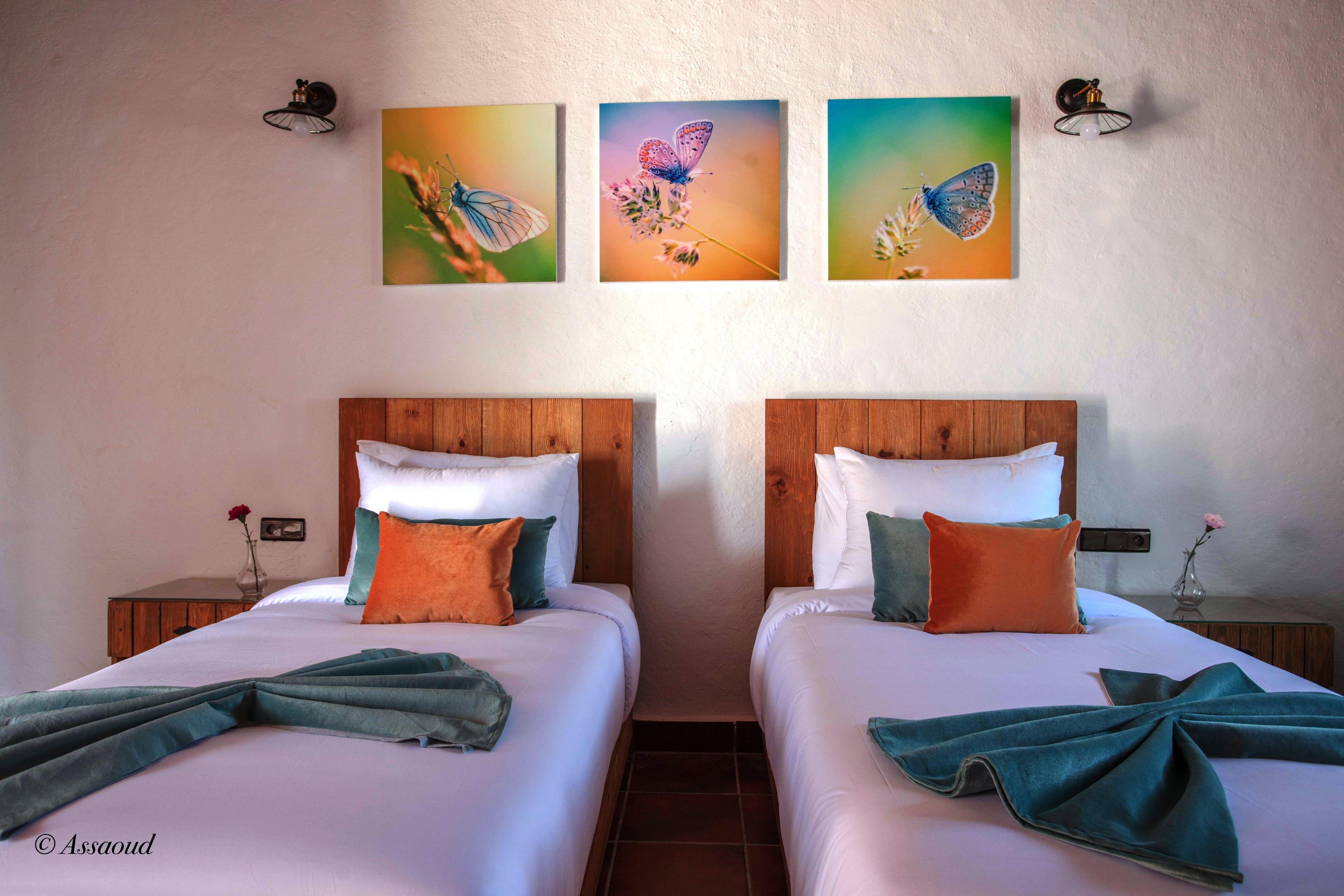 Bungalow Doppel 15 - El Cortijo Chefchaeun Hotel S  in Marokko