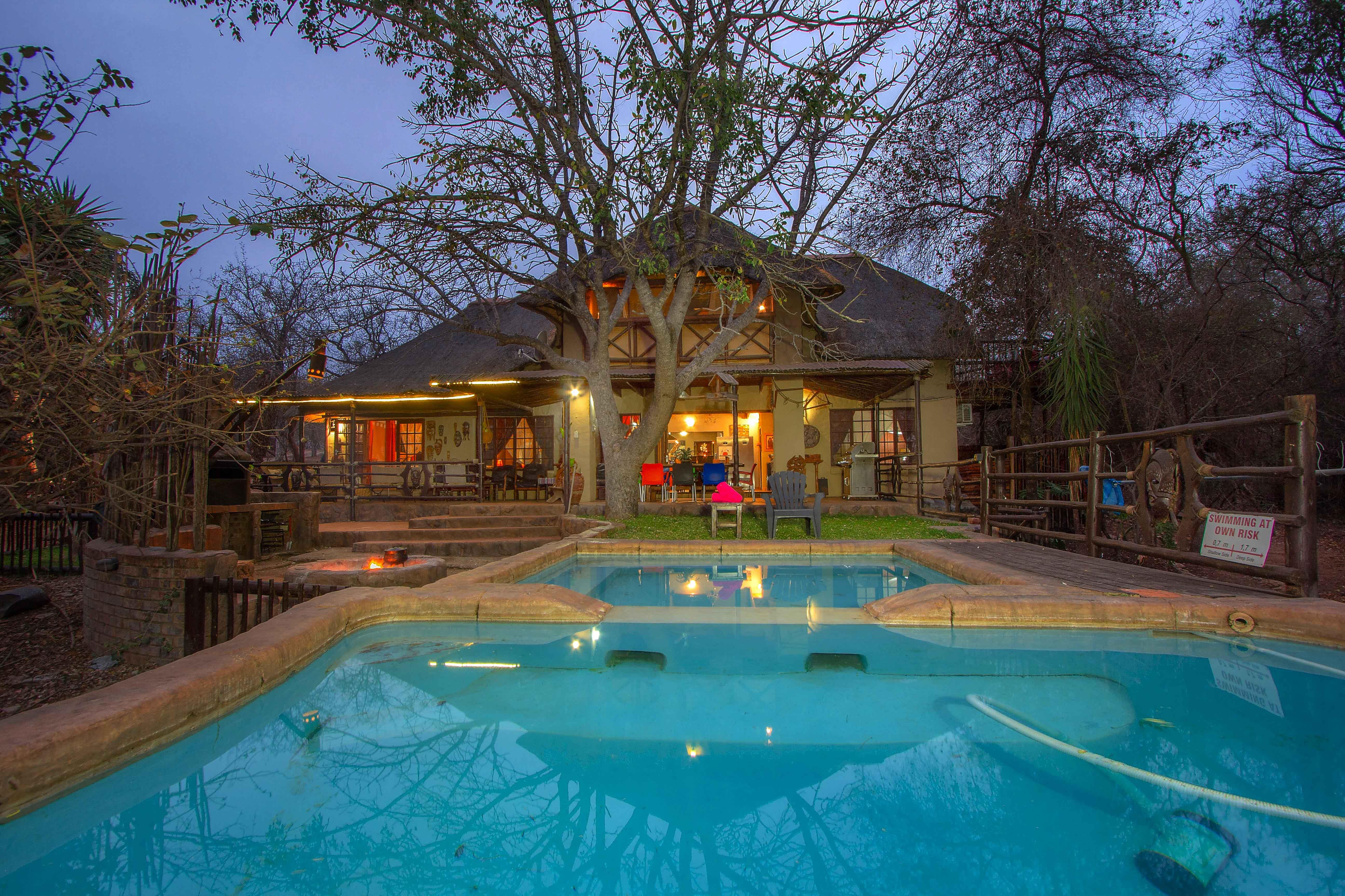 Schones Ferienhaus grenzt an den Kruger Nationalpa Ferienhaus in Südafrika