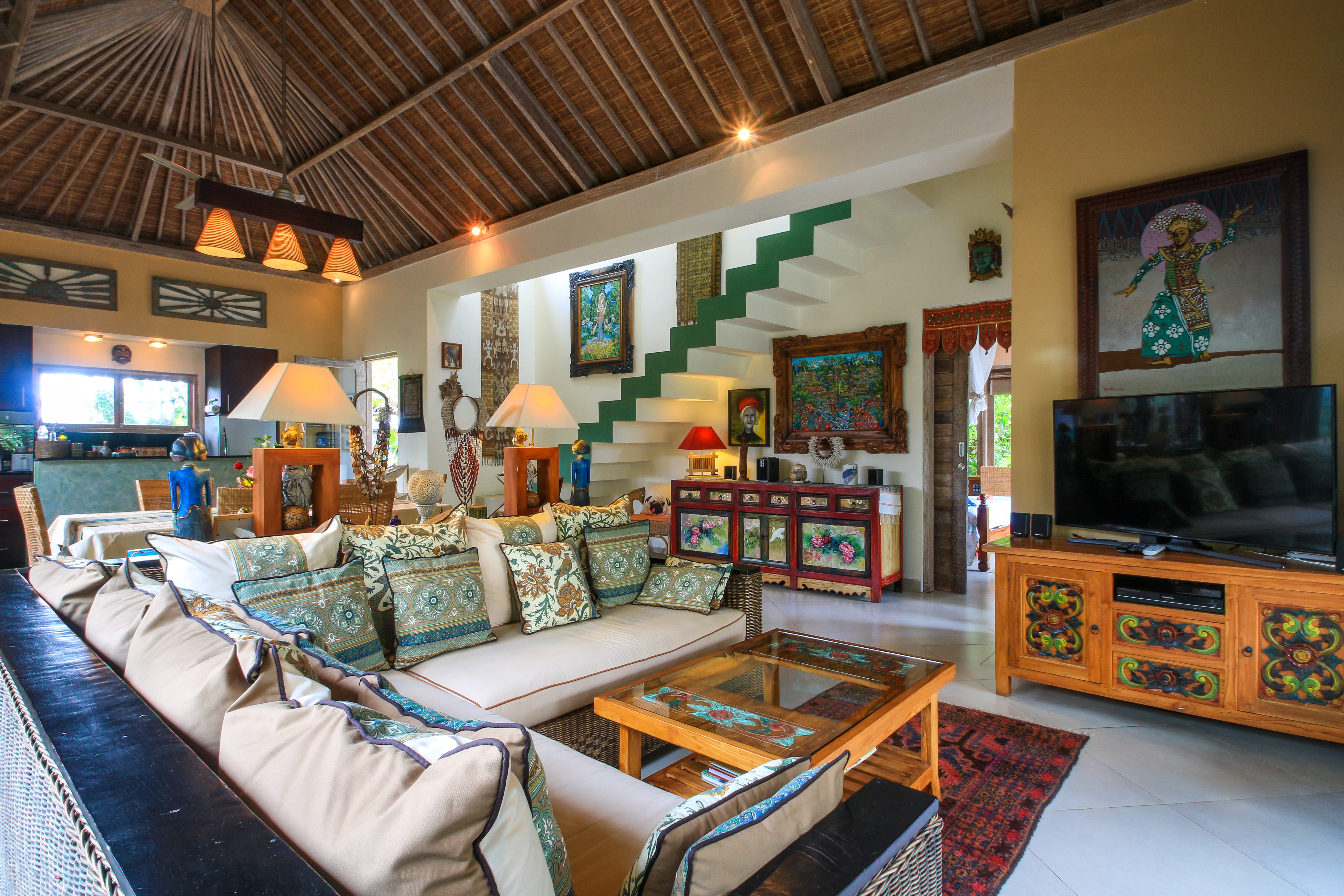Vss Ubud Villa Pool ac bestes Fruhstuck in Bali Bungalow in Asien und Naher Osten
