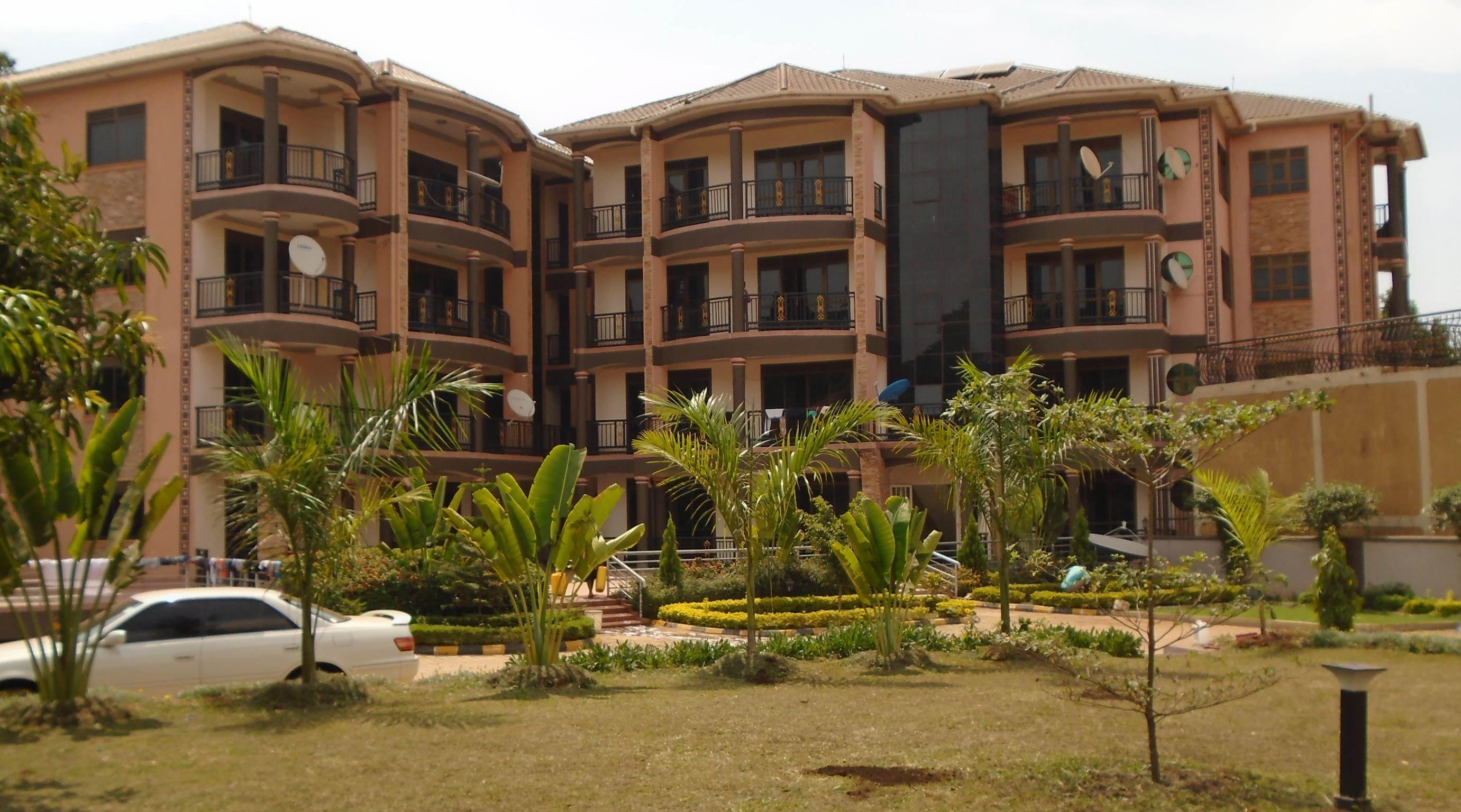 Wenn Sie geschaftlich oder zum Vergnugen in Kampal Ferienwohnung in Uganda