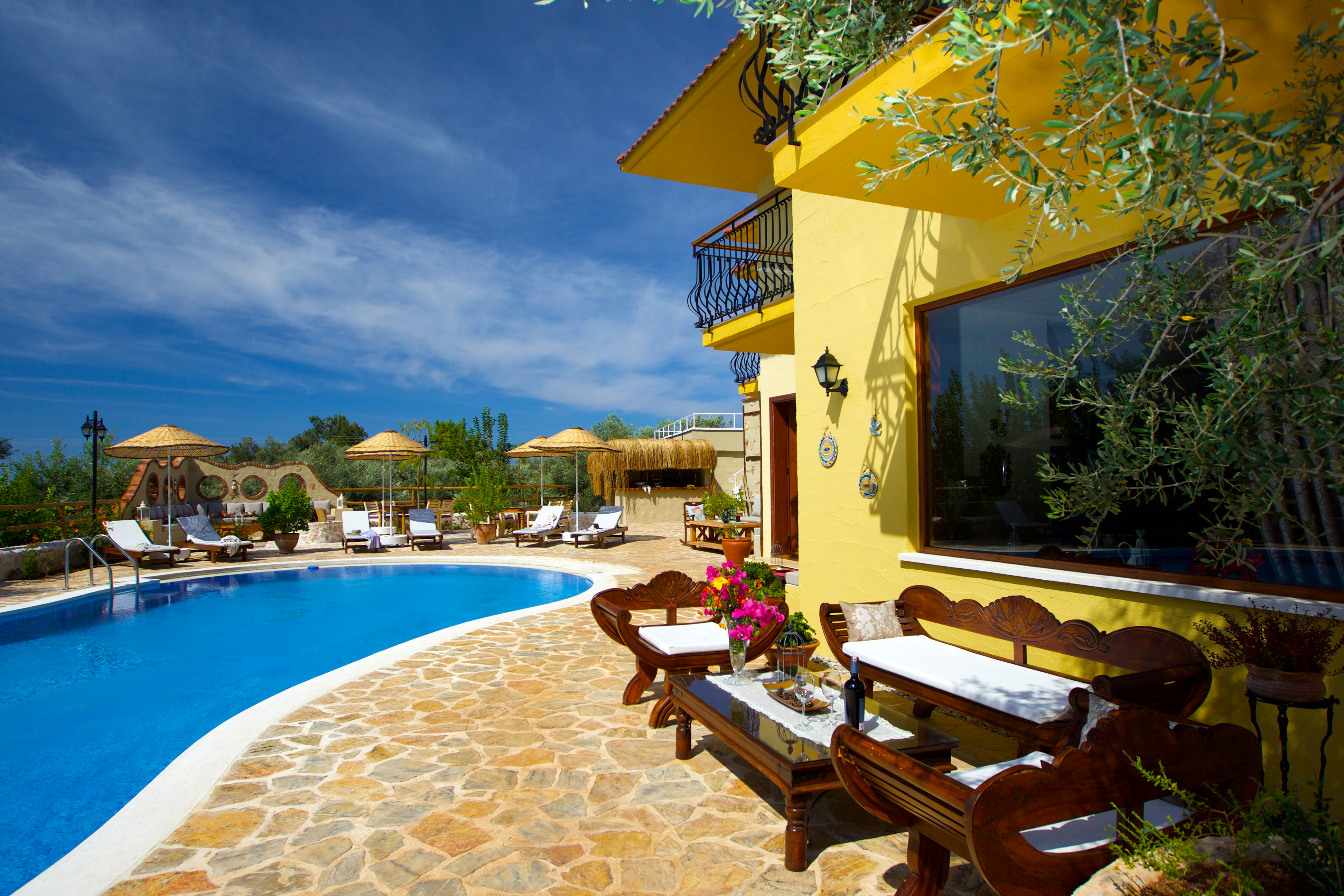 Appartement de vacances Luxuriöse Unterkunft und persönliches Ambiente in unzerstörter Natur. (2636883), Fethiye, , Région Egéenne, Turquie, image 2