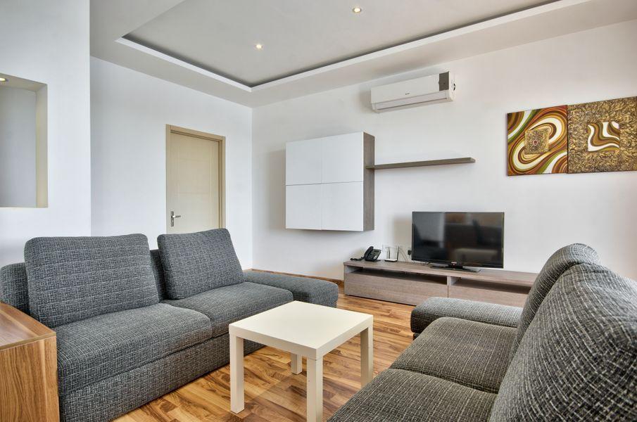 Stunning Views Sliema Seafront 4-bedroom Apt