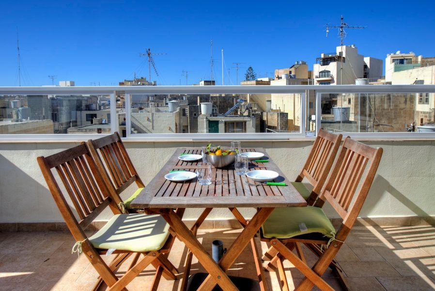 Spectacular Views Sliema 1-bedroom Penthouse