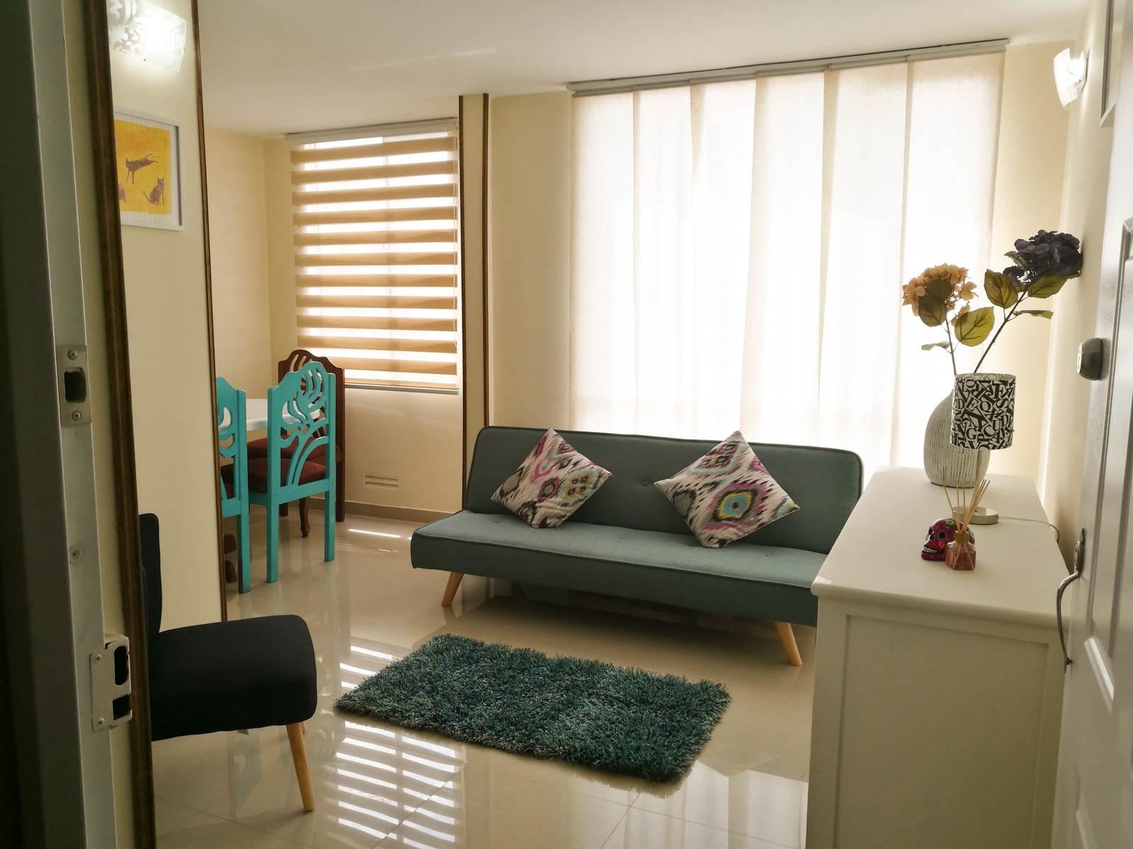 Wohnung in Bogotas Savanne mit Parkplatz und Wifi Bis zu 6 in Tocancipa