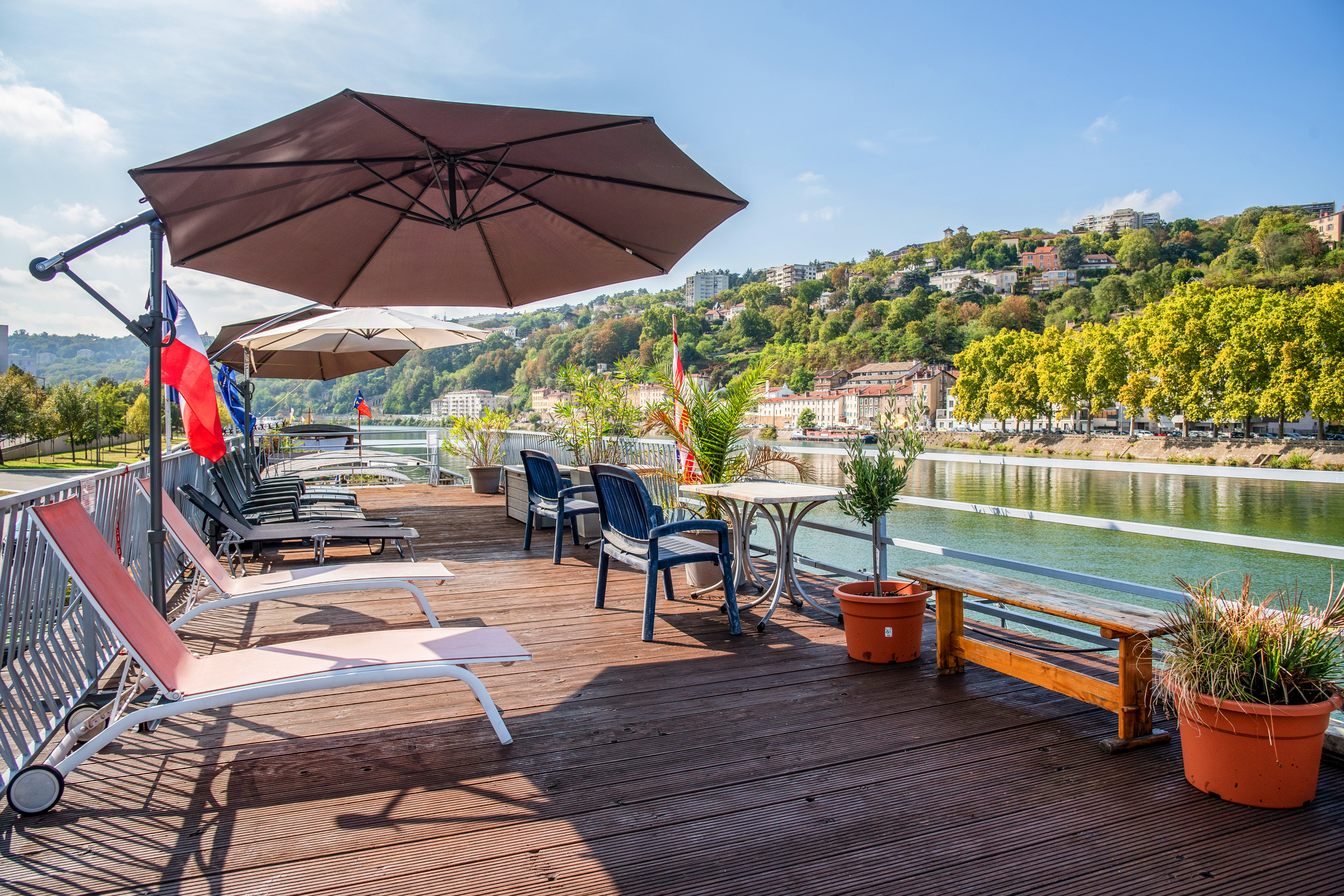 Studio auf Barge, Le Cormoran, Bord De Saone in Ly