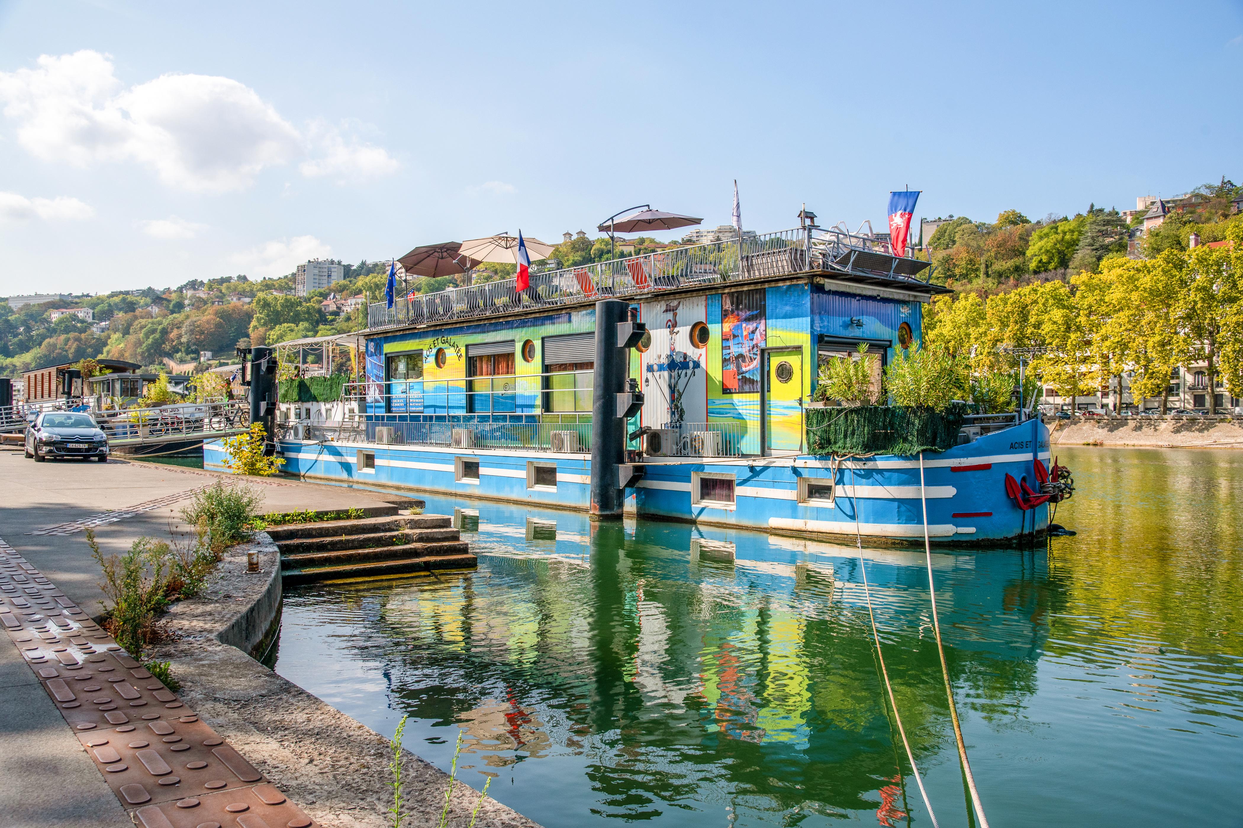 Mini Studio Barge im Herzen von Lyon, ungewohnlich