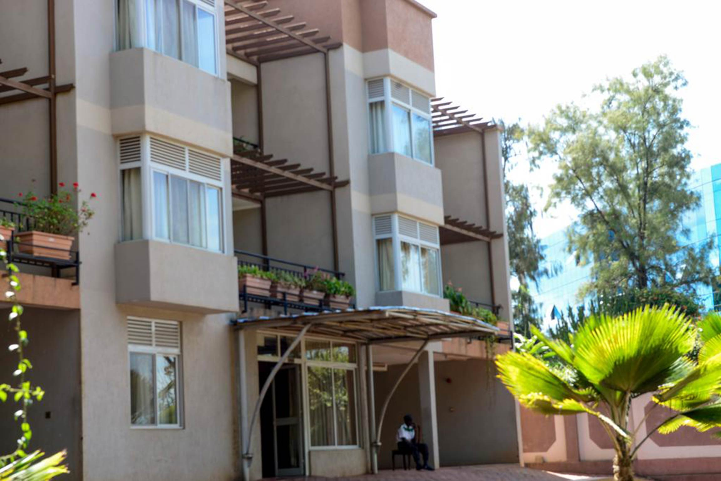 This Double room is a great choice for your fabulous stay Kigali