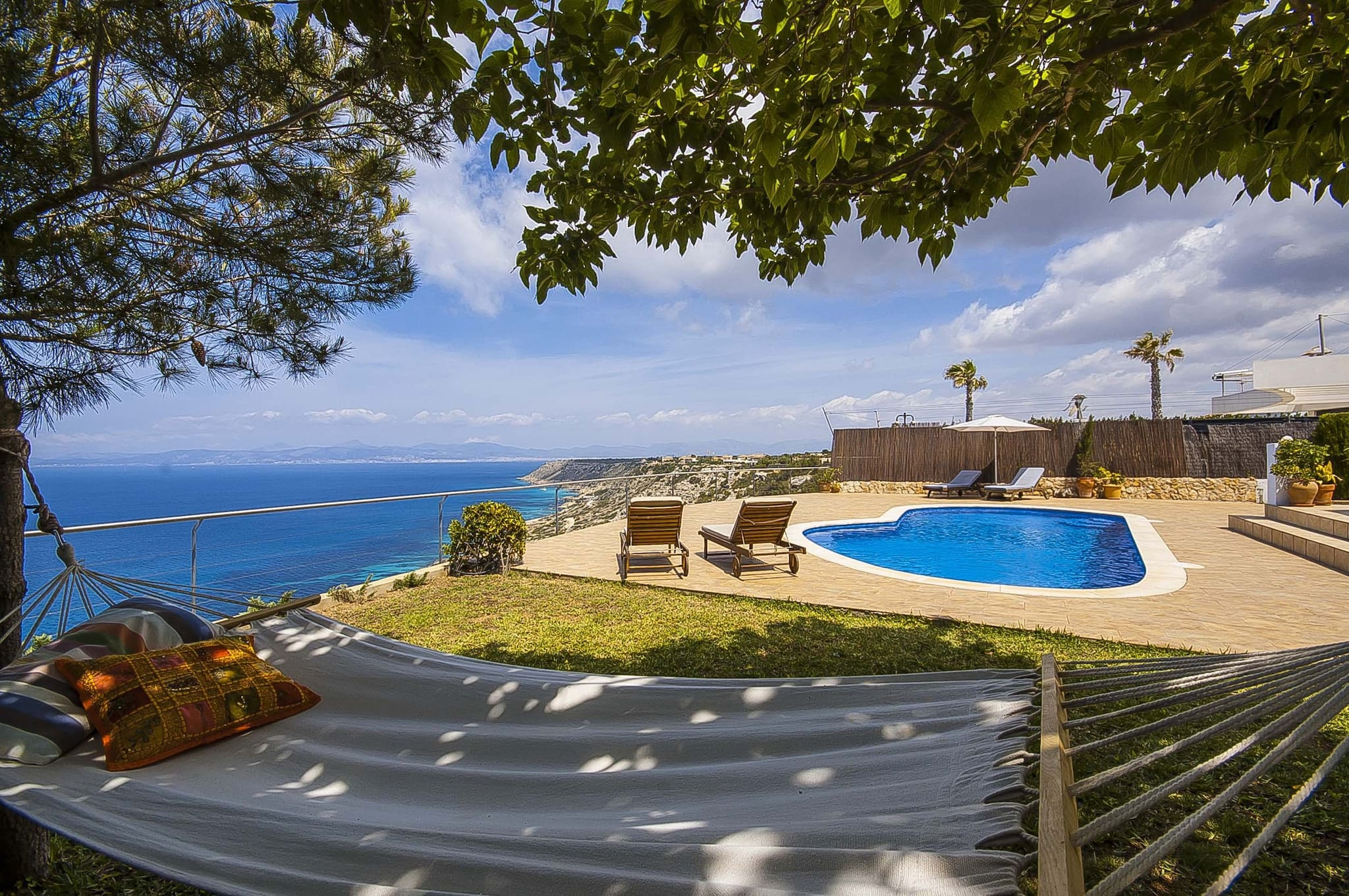 Villa mit Meerblick und privatem Pool