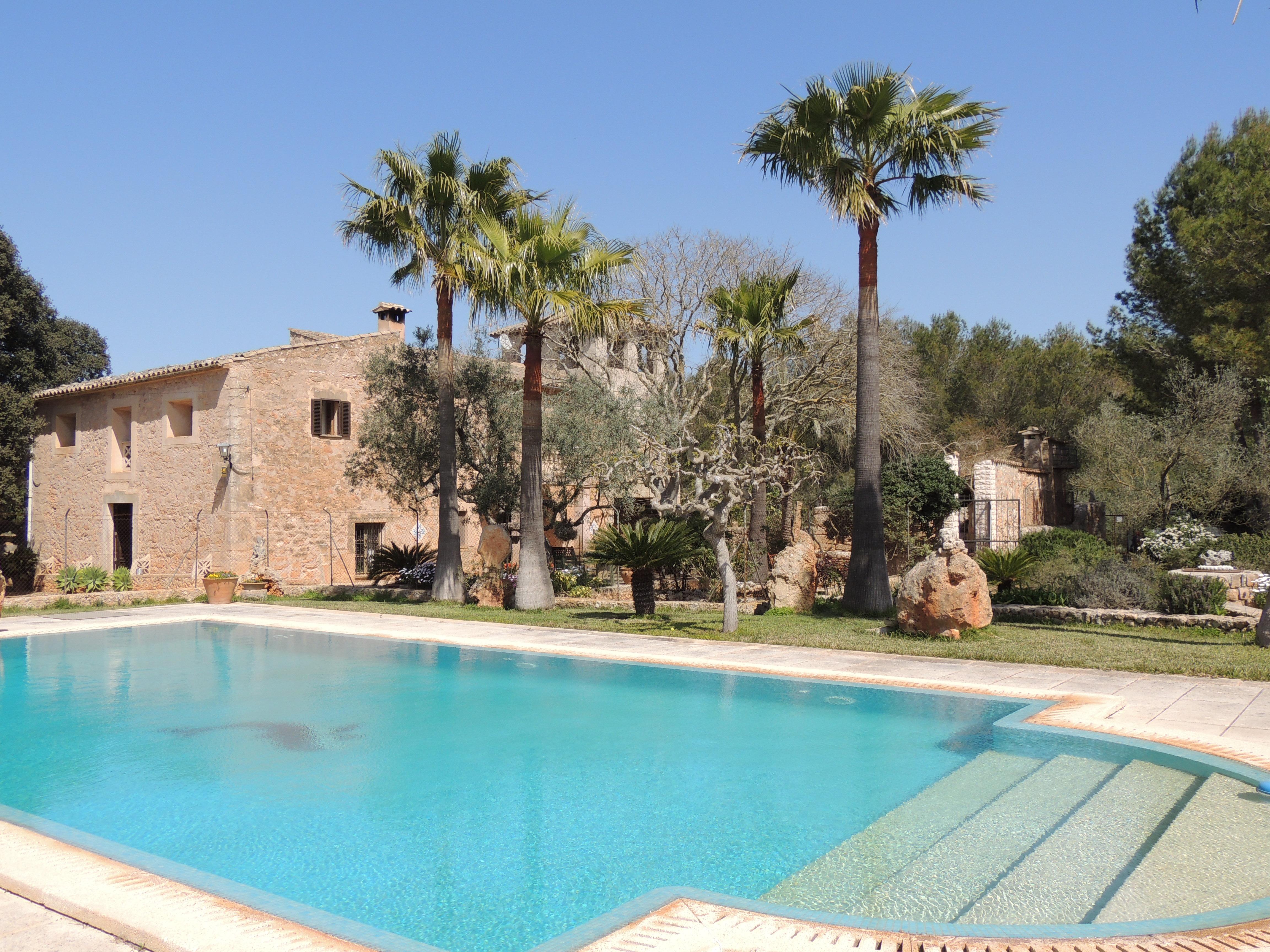 Charmante Villa mit Pool in Algaida
