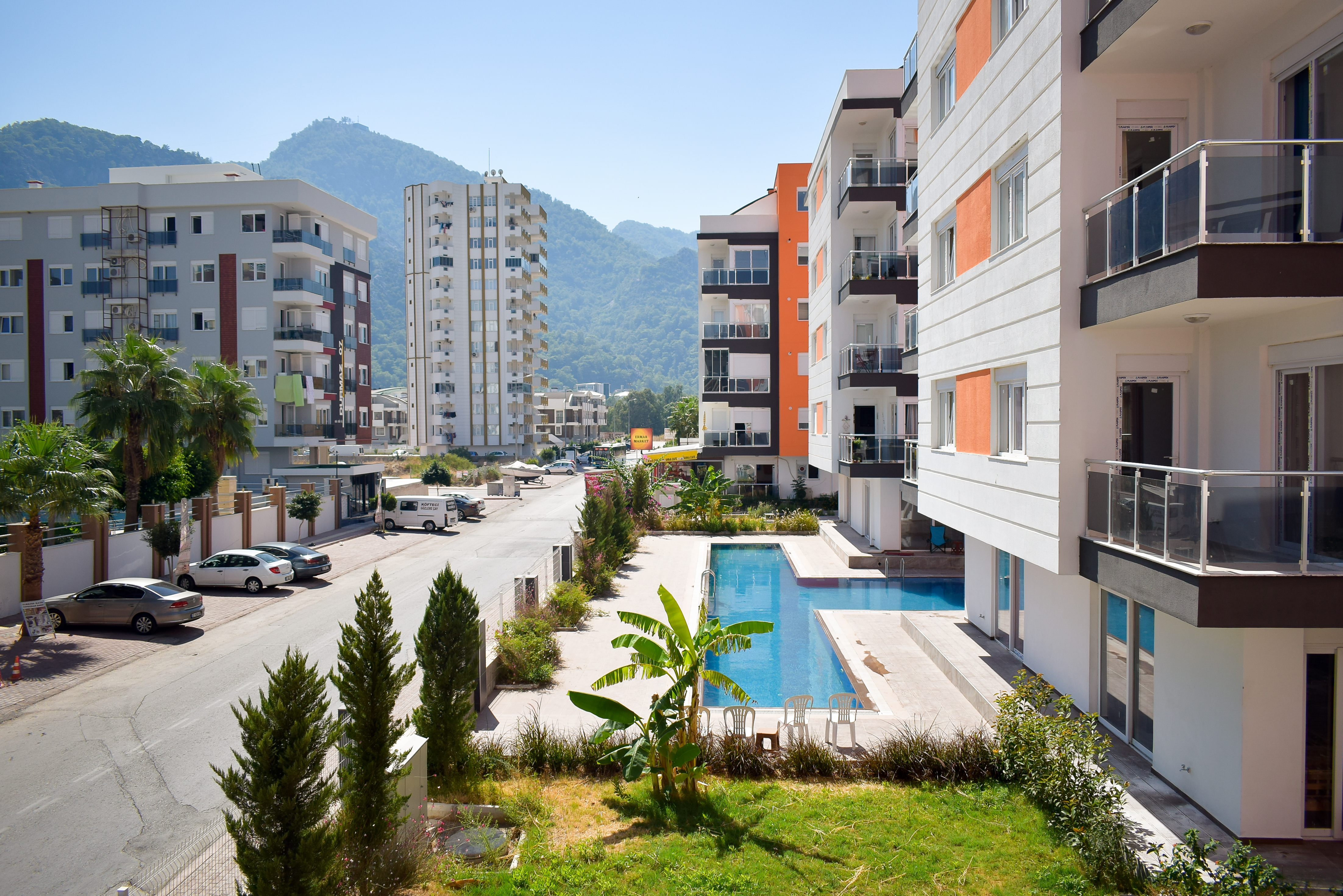 Ferienwohnung Gemtliche 2 Schlafzimmer mit Blick auf die Berge Gratis Wifi (2782156), Çakirlar, , Mittelmeerregion, Türkei, Bild 6