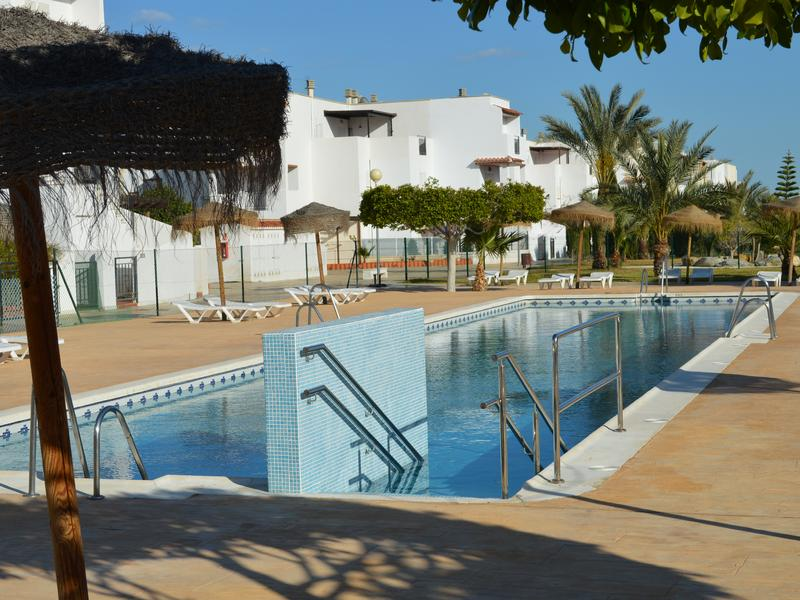 Ground floor apartment in Vera Playa, private patio, North facing