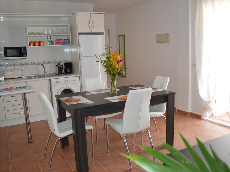 Ground floor apartment direct access to the beach, private patio, west facing