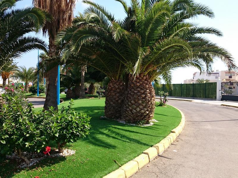 Ground floor apt in Vera Playa, private patio, North facing