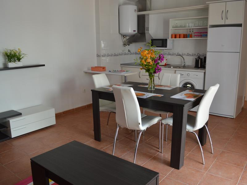 Ground floor apartment with kitchenette, private patio, South facing