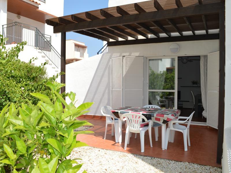Ground floor apartment, private patio, North facing